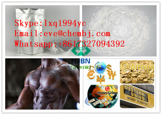 China Methenolone Acetate Anabolic Androgenic Steroids , White Powder Anabolic Steroid Hormones supplier