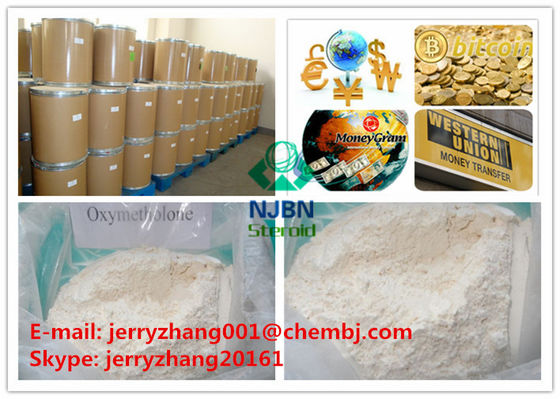 China Safe Oral Anabolic Steroids Oxymetholone CAS 434-07-1 For Muscle Enhancement supplier