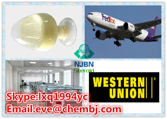 China Yellow Solid Sexual Human Growth Hormone Steroid CAS 489-32-7 Icariin supplier