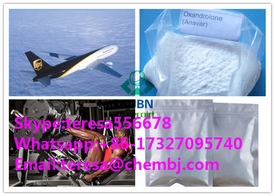 China Oxandrolone / Oxandrin Pharmaceutical Grade Anabolic Steroids Weight Loss 53-39-4 supplier