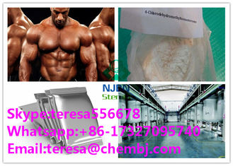 China Turinabol 4-Chlorodehydromethyltestosterone Muscle Growth Steroids CAS 2446-23-3 supplier