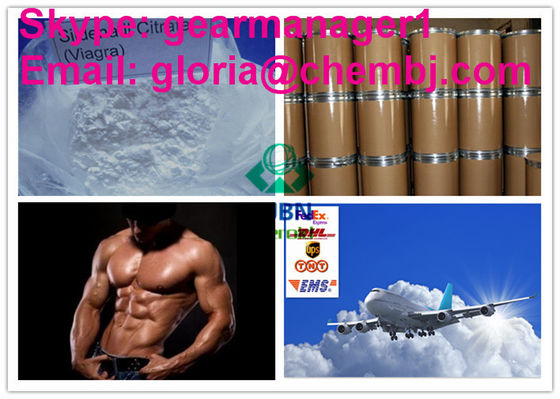 China Effevtive Pure Natural Steroid Hormones CAS 171599-83-0 Sildenafil Citrate supplier
