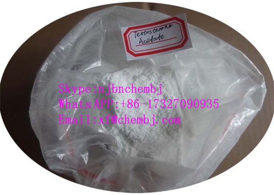 China 99% Muscle Building Testosterone 1045-69-8 White Powder Testosterone Acetate supplier