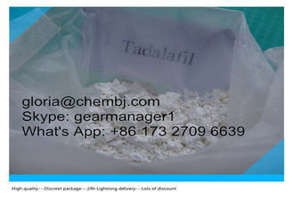 China 99% Purity Sex Steroid Hormones Tadalafil CAS 171596-29-5 Cialis White Powder supplier