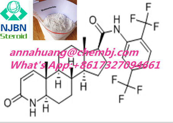 China Glucocorticoid Steroids Male Hair Loss Drugs 164656-23-9 Dutasteride for sale supplier