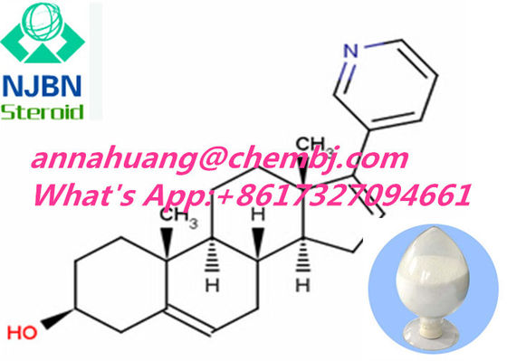 China Hormone Drugs 154229-19-3 Abiraterone for prostate cancer treatment supplier