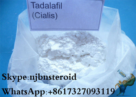 China Cialis White Powder Sex Steroid Hormones CAS 171596-29-5 Tadalafil Citrate supplier
