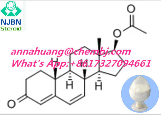 China Cas 2590-41-2  Androgenic Anabolic Steroids Androgen and intermediate Dehydronandrolone Acetate supplier