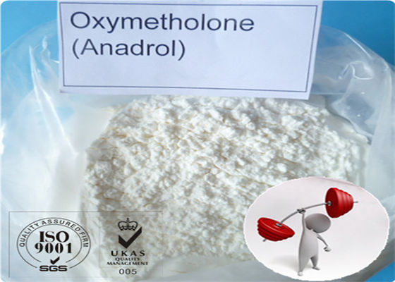 China Oxymetholone Anadrol OXY Muscle Growth Steroids , Bodybuilding Steroid Powders CAS 434-07-1 supplier