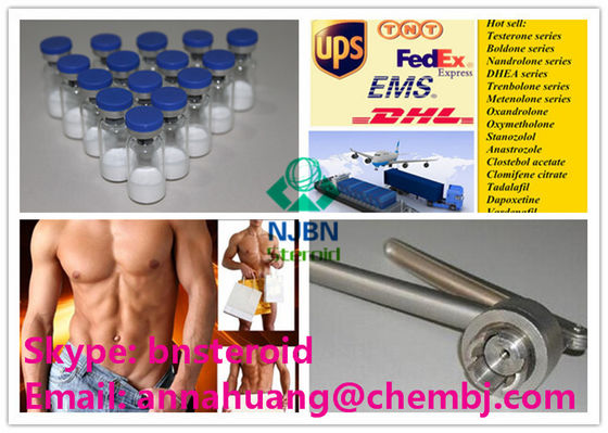 Hexarelin Steroid Peptide Hormones CAS 140703-51-1 HEX Examorelin For Cutting Cycle