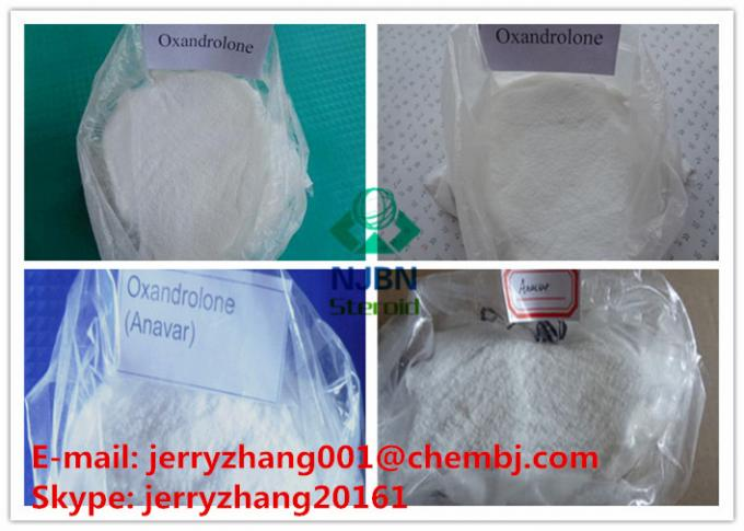 99% Purity Synthetic Anabolic Steroids Oral Oxandrolone 53-39-4 for Muscle Growth