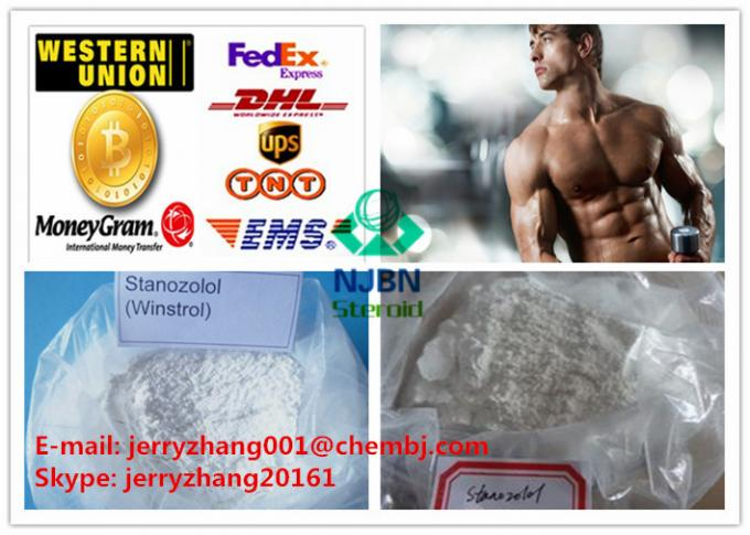 Muscle Building Injectable Anabolic Steroid Stanozolol Steroid CAS 10418-03-8