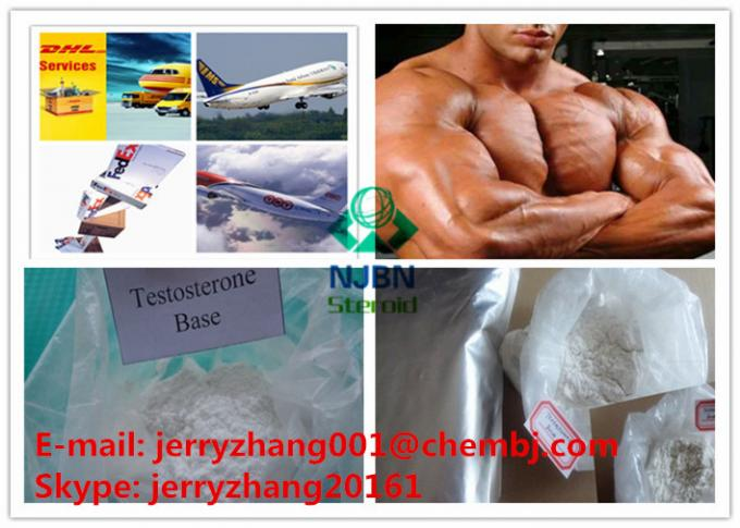 CAS 58-22-0 Injectable Muscle Growth Steroids For Muscle Building Testosterone Base