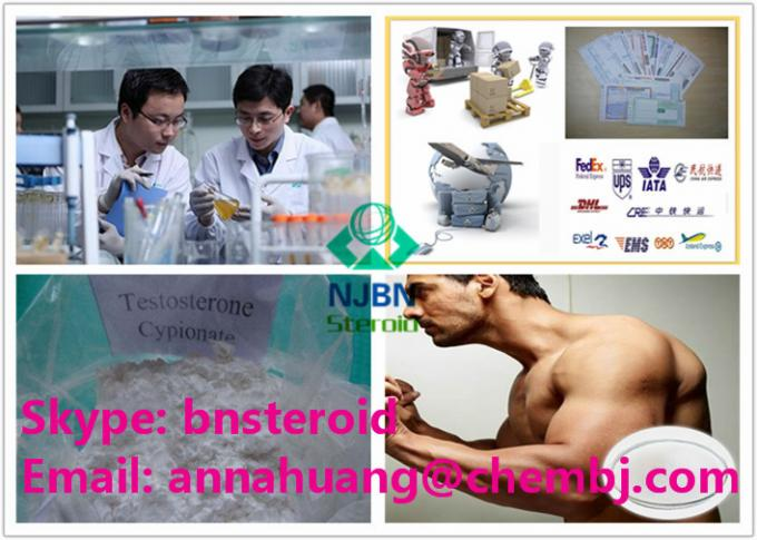 Injectable Test Cyp Testosterone Anabolic Steroids Testosterone Cypionate 58-20-8