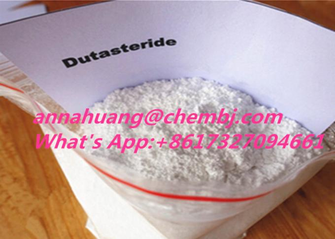 Glucocorticoid Steroids Male Hair Loss Drugs 164656-23-9 Dutasteride for sale